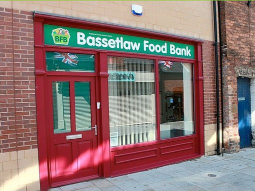 Bassetlaw Food Bank Distribution Centres In Worksop And
